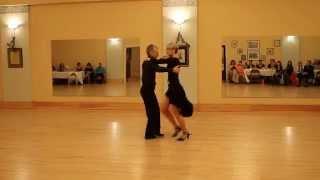 Jack and Lucy Henningfield Argentine Tango La Copla Portena 22 Feb 2014  TowsonDance StudioVideo