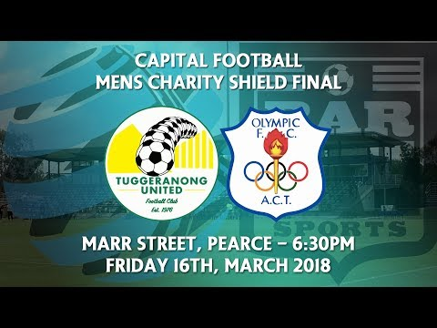 2018 Capital Football Mens Charity Shield Final - Canberra Olympic v Tuggeranong United