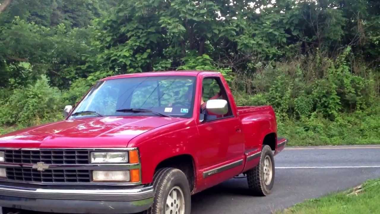 Chevy Step Side K1500 1990 Nates New Truck Youtube 90 Chevy Truck