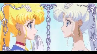 Sailor moon HD Final Battle & Sailor moon meets her future self, Queen Serenity ..
