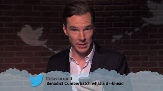 Repeat youtube video Benedict Cumberbatch & Matt Damon Read Mean Tweets On Jimmy Kimmel