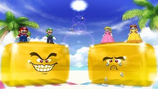 Mario Party 4 - All Funny MiniGames