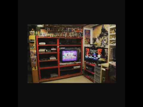 TheRetroSpace: Retro Video Games Room Collection Update 2015