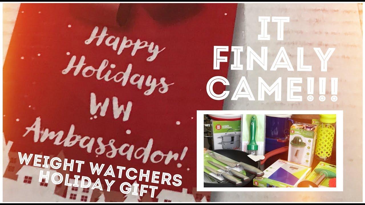 Weight Watchers FREESTYLE • Ambassador Holiday Gift Unboxing!!!