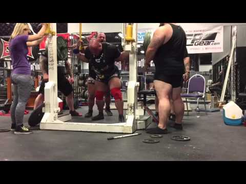 Repeat Ryan Kennelly Raw Bench Press 680 lbs 308 kg 12/09
