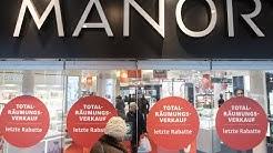 Warenhaus Manor schliesst: Die Reaktionen der Mitarbeiter - Bahnhofstrasse - Schliessung