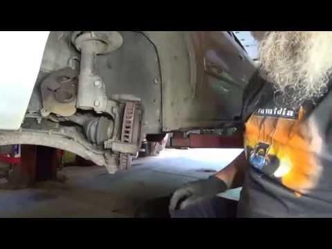 replace front wheel hub bearing on GM 2001 Buick Century