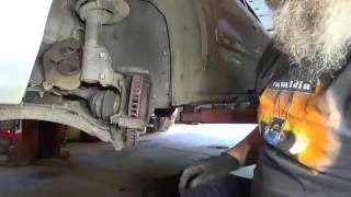 replace front wheel hub bearing on GM 2001 Buick Century