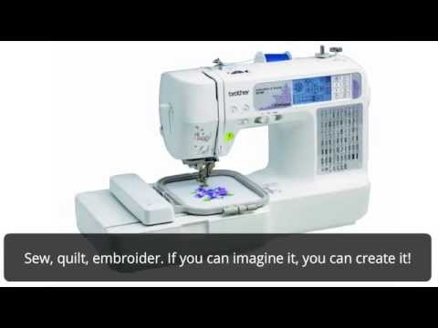 Brother SE4000 Combination Computerized Sewing And 400x400 Embroidery Classy Brother Sewing And Embroidery Machine Se400
