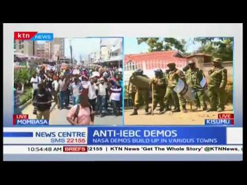 NASA anti-IEBC demos in Kisumu