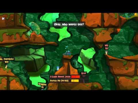 Gaming Gauntlet - Lone VS Jesse: Worms Revolution