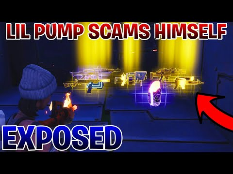 Lil Pump Just Tried Scamming me! Scammer Gets ScammedSave The World Fortnite