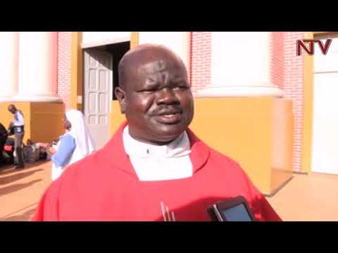 Gulu archdiocese pilgrims set off to Namugongo on foot