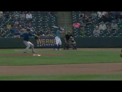 Iowa's Williams fans fifth batter