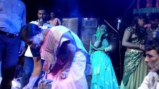 thanda recording dance MLA ribbon cutting