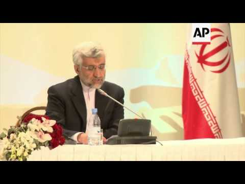 Iran's chief nuclear negotiator says Iran looks positively at EU proposals, Ashton comment