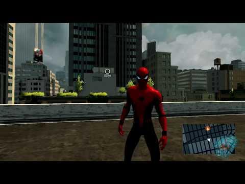 Civil War Spiderman Suit Mod (PC) The Amazing Spiderman 2【60FPS 1080P】