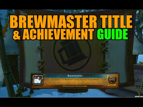 WoW Brewfest Brewmaster Title & Meta Achievement Guide