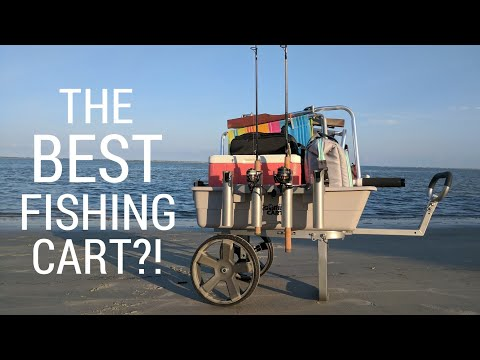 The BEST Fishing Cart?! | Gorilla Carts Fish & Marine Cart Unboxing & Review