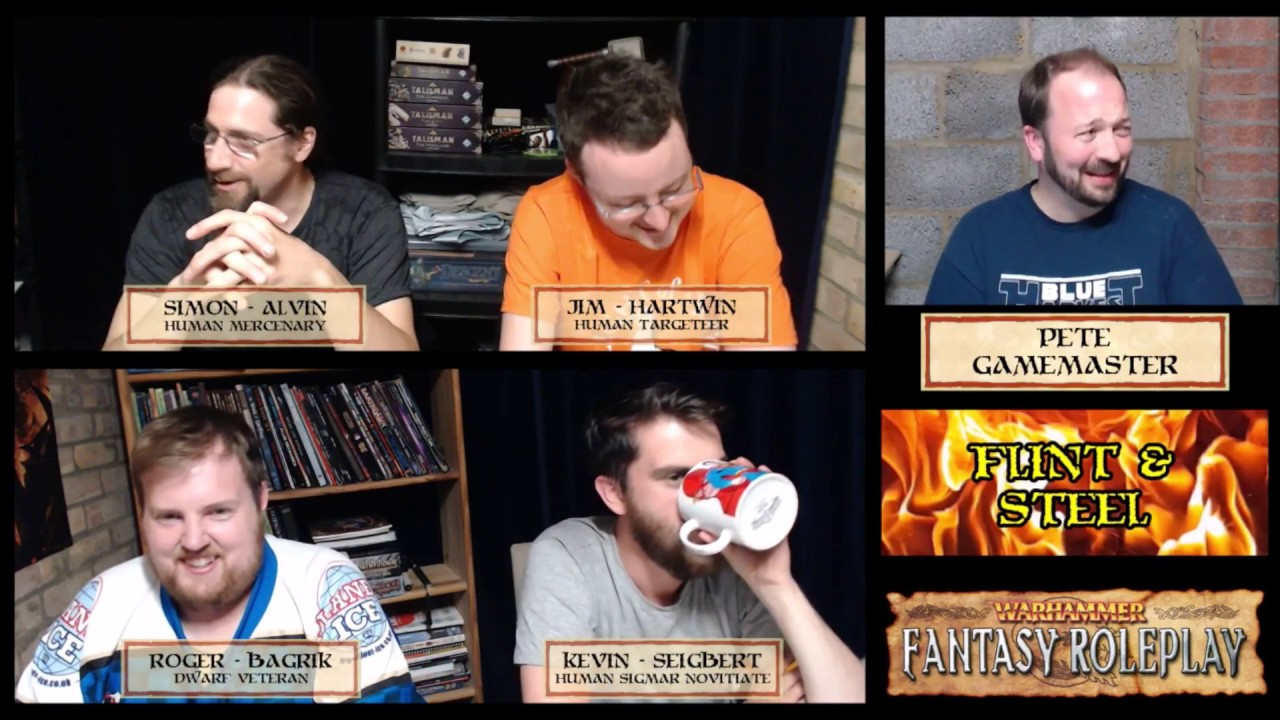 Download Flint & Steel - Warhammer Fantasy Roleplay - S01E10 - Unexpected Invitations