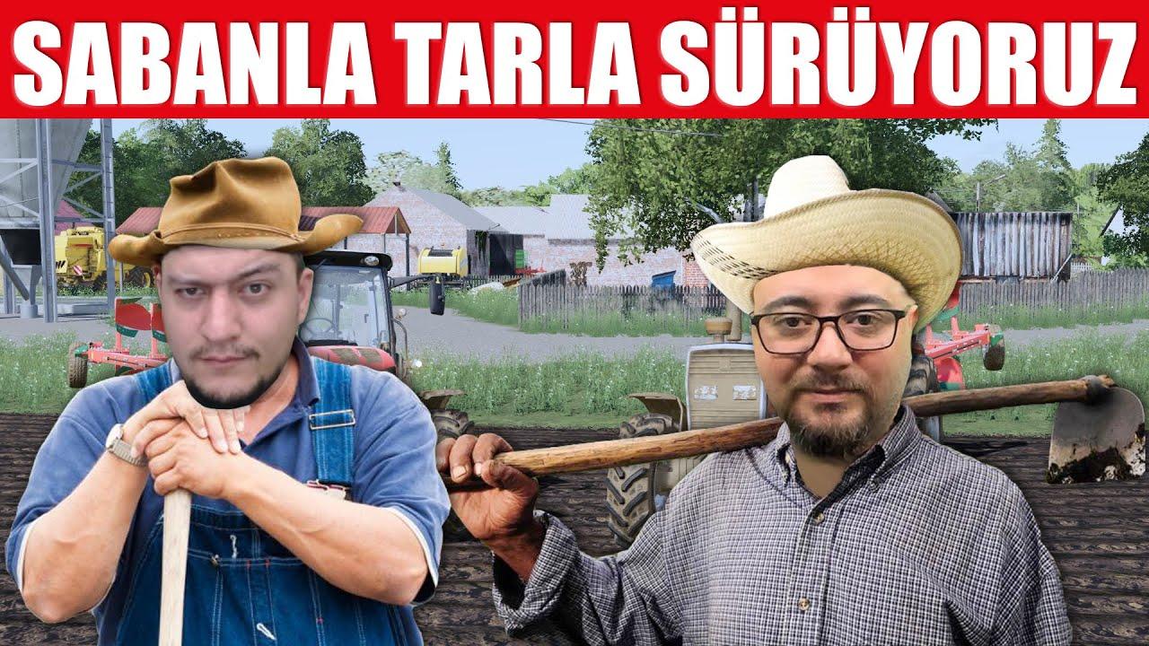 TARLALARI NADASA BIRAKIYORUZ // SABANLARLA İŞ BAŞINDAYIZ | w//@Samet Arslantaş !!