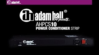"Adam Hall 19"" Parts PCS 10 - Power Conditioner"