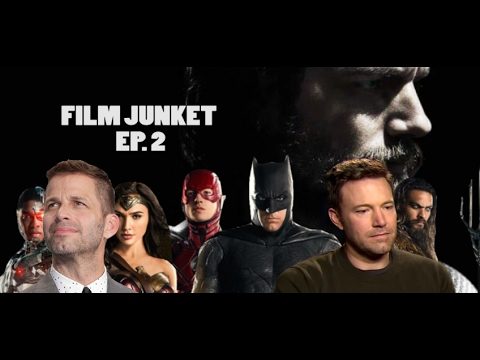 Zack Snyder, Justice League Trailer & The Batman Director Search - Film Junket Podcast Ep. 2