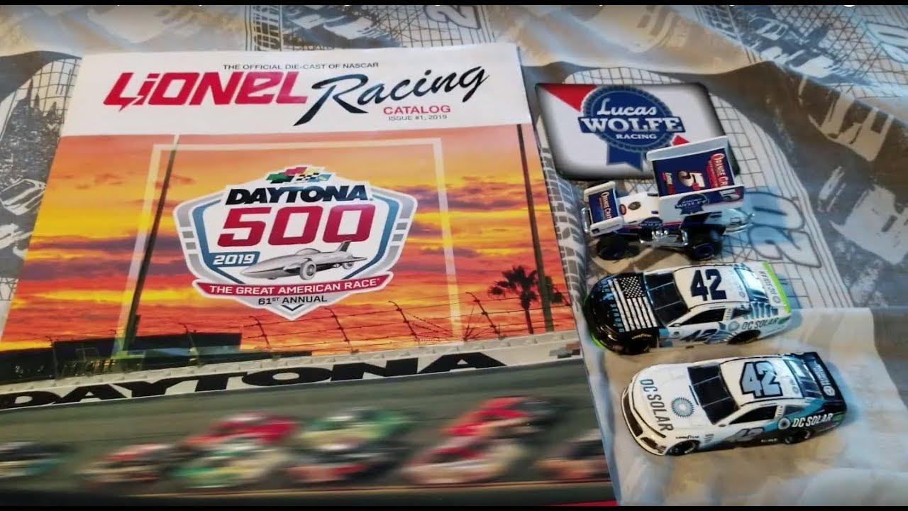 Lucas Wolfe Sprint Car Kyle Larson 2018 Vegas Darlington Cars Lionel Daytona 500 Catalog Youtube