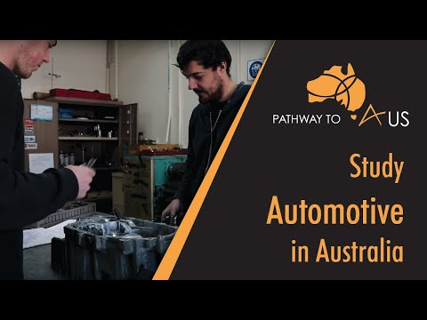 Study Automotive In Australia