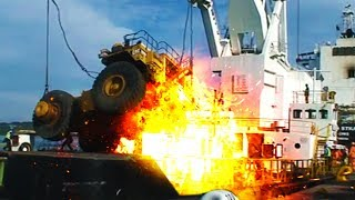💥 Heavy Machinery FAILS and ACCIDENTS Caught on Tape