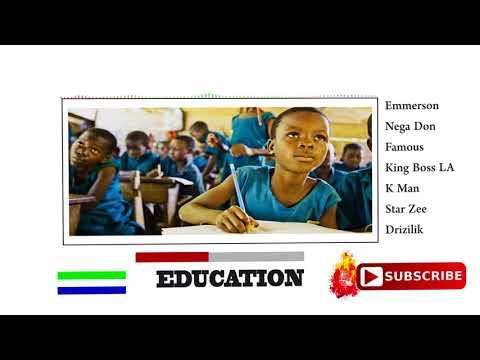 Emmerson|Nega Don|Famous|King Boss La|K.Man|Star Zee|Drizilik| - Education (Official Audio 2018)