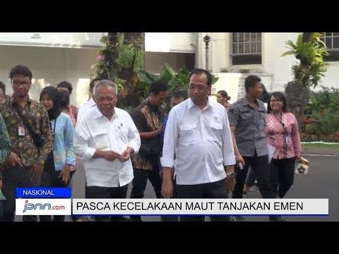 Cover Lagu Hindari Kecelakaan, Menhub dan Menteri PUPR Pugar Geometri Tanjakan HITSLAGU