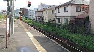 キハ187系特急スーパーいはば7号鳥取行き 津ノ井駅通過