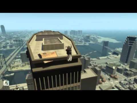 GTA 4 Приколы, трюки, аварии гта 4 видео трюки и аварии