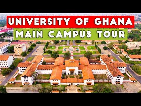 UNIVERSITY OF GHANA MAIN CAMPUS | AERIAL TOUR