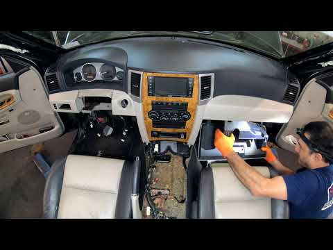 2008 Jeep Grand Cherokee Evaporator And Heater Core Replacement Series Part 3