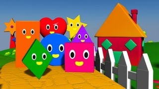 The Shapes Song | Shape song | Shapes song | Shapes