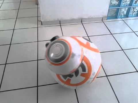 Real size robot bb8 from star wars. - YouTube