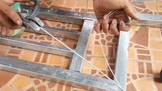 Cara mengelas besi 0.7 agar tidak bolong2