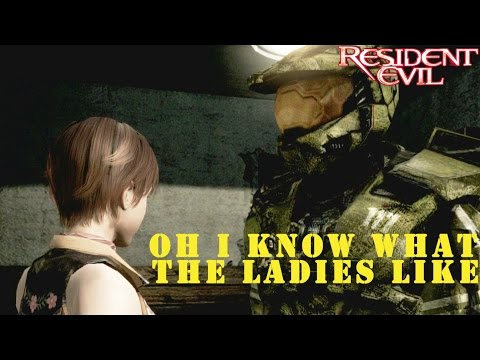 Resident Evil Remastered 1080p- Master Chief as Chris play through Pt.2