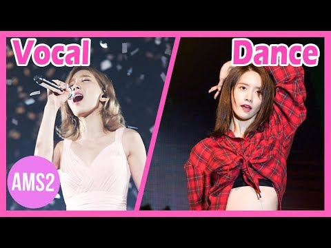 SNSD OH!GG RANKING IN DIFFERENTS CATEGORIES (VOCAL, DANCE, RAP & MORE)