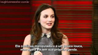 leighton meester live with regis and kelly 2011 legendado
