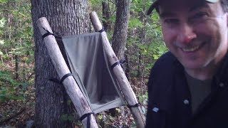 All New Bushcraft Camping Chair Design