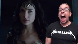 Final Wonder Woman Trailer Reaction