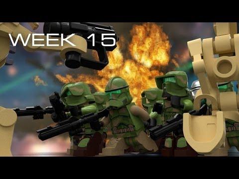 Building Kashyyyk in LEGO - Week 15: Water Placement