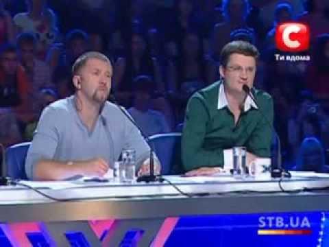 The X-factor Ukraine Season 1. Casting in Kyiv. part 1