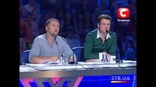 «The X-factor Ukraine» Season 1. Casting in Kyiv. part 1