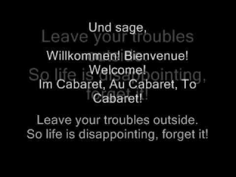 Wilkommen - Cabaret the Movie