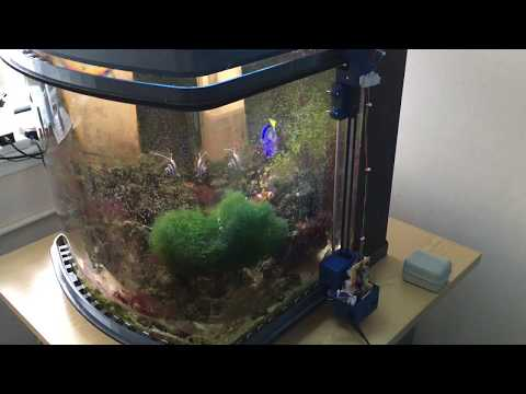 Arduino Controlled Automatic Glass Cleaner for a Curved Fish Tank: PROTOTYPE