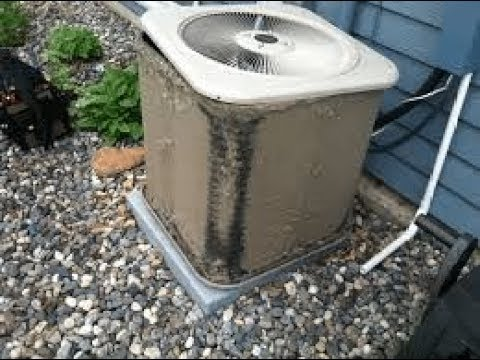 How to Clean your dirty AC Outdoor Unit
